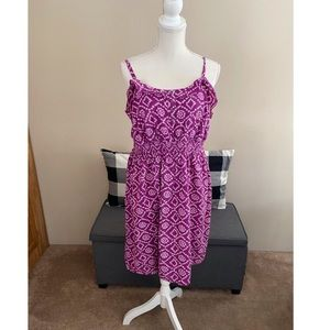 Lane Bryant Ruffle Accent Dress Size 14